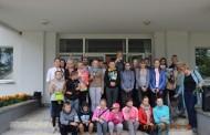"""Policijos susitikimas su bendruomeninės organizacijos """"Dainavos kaukas"""" nariais"""
