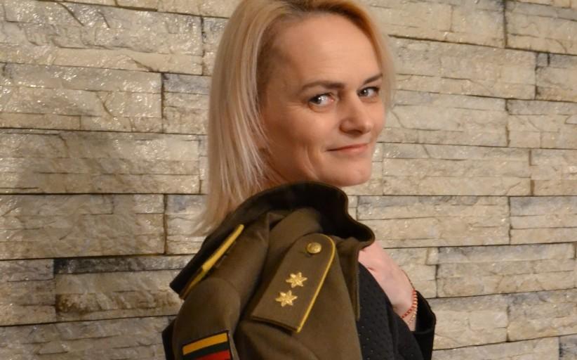 Buvusi Lietuvos kariuomenės karininkė šiandien gina vaiko teises