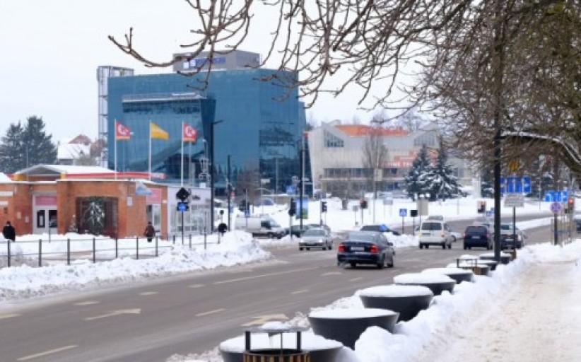 Alytaus miesto savivaldybės verdiktas – iki savaitgalio miesto gatvės turi būti nuvalytos