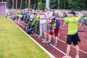 Alytaus centriniame stadione paaiškėjo Lietuvos šaudymo iš lanko čempionai