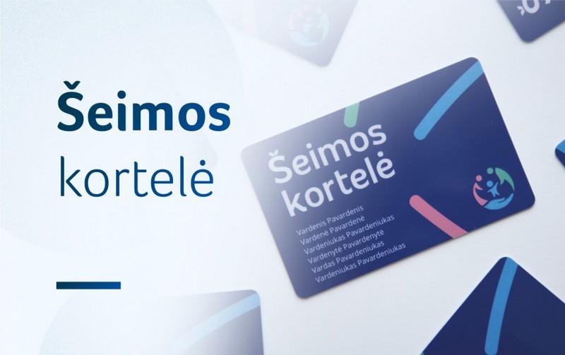 Šeimos kortelė: apie ją žino dauguma Lietuvos gyventojų