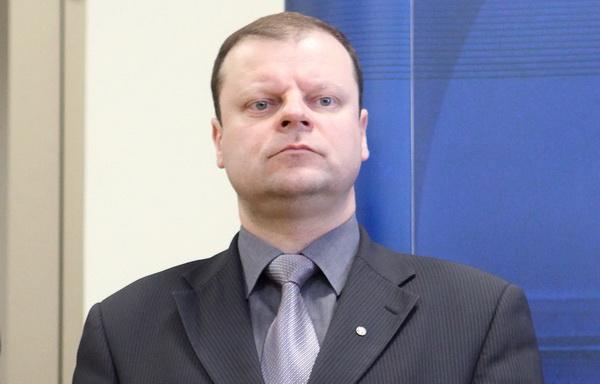 Alytuje lankysis vidaus reikalų ministras Saulius Skvernelis