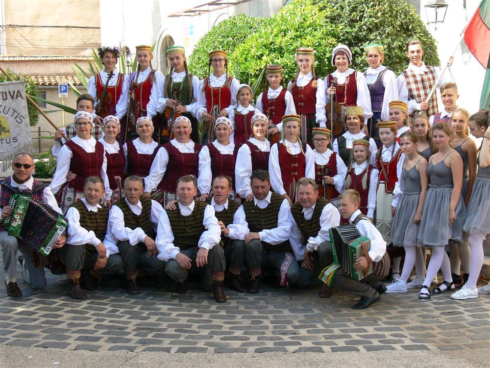 29-ajame Pasaulio folkloro festivalyje Prancūzijoje skambėjo ir lietuviška muzika