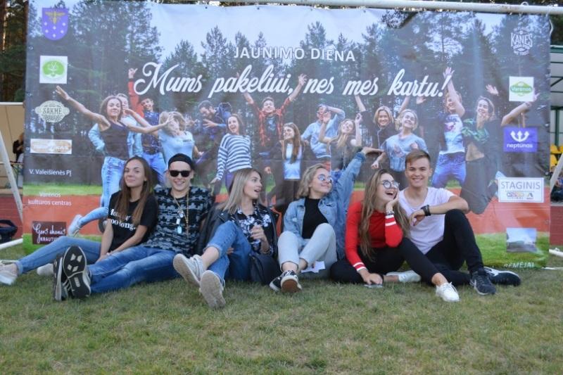 Šurmuliavo Jaunimo diena Varėnoje