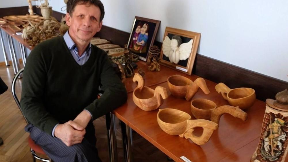 Šalčininkų kultūros centre vyks susitikimas su tradiciniu amatininku Algirdu Juškevičiumi