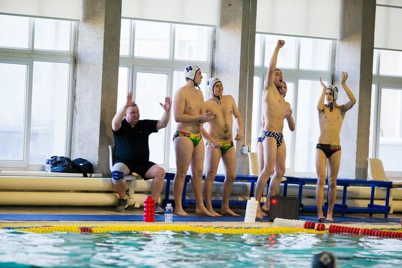 Sėkmingas Alytaus miesto vandensvydininkų žaidimas antrame čempionato ture