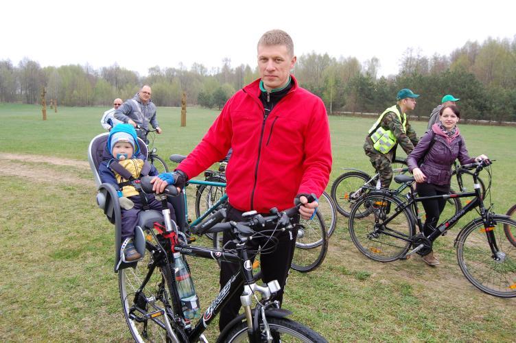 Žygis dviračiais Šeimos dienai paminėti