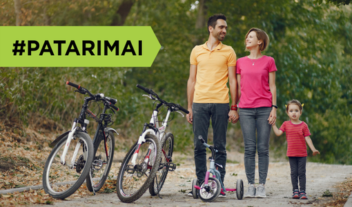 Kaip protingai pasirinkti dviratį pagal ūgį?