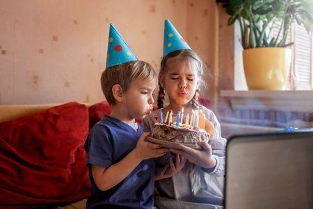 Šventė karantino metu: gimtadienio idėjos vaikams