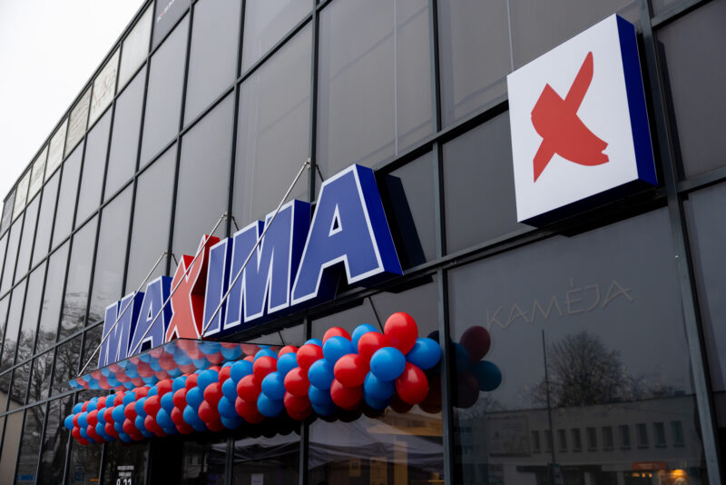 """Druskininkuose atidaryta atnaujinta """"Maxima"""""""