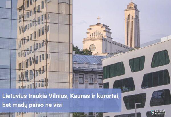 Lietuvius traukia Vilnius, Kaunas ir kurortai, bet madų paiso ne visi