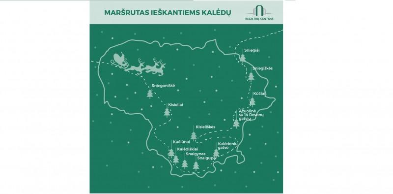 Kalėdinis kelionės maršrutas: dovanų į Ąžuolinę, sniego link Veisiejų